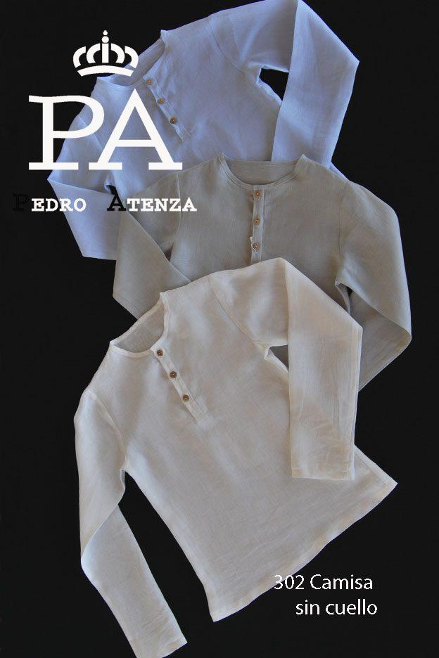 302 Camisa sin cuello