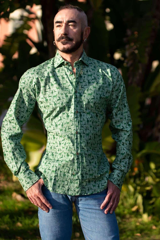 Camisa original para hombre